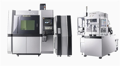 台湾苏比克公司引进复合式金属3d列印加工机(左),及opm模具专用成型机图片